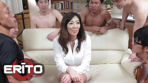 Erito – Gangbang With Hot Gorgeous Girl And Five Guys