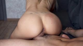 Big Boobs Girl Make Him Cum Twice after Titfuck